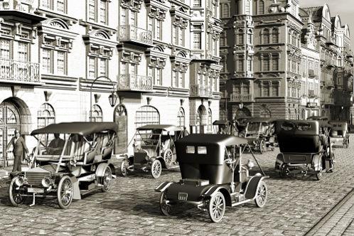 A popularização dos automóveis começou no período da Belle Époque