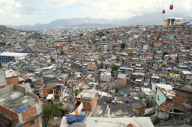 Complexo do Alemão, uma favela do Rio de Janeiro