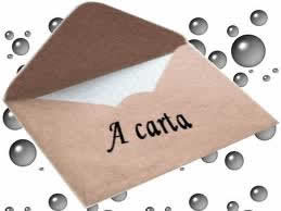 A carta é um gênero que costuma obedecer a um padrão fixo, no que se refere a aspectos estruturais