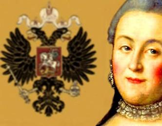 Catarina, a Grande, uma ambiciosa czarina influenciada pelos valores iluministas.