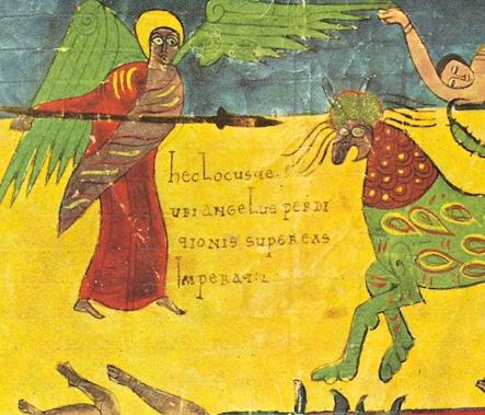 Imagem medieval representa uma das passagens bíblicas relacionadas ao apocalipse