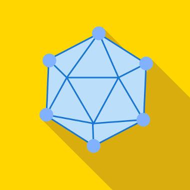Poliedro formado por faces triangulares