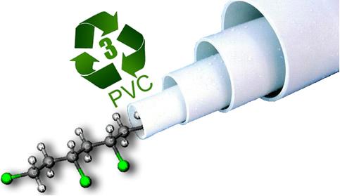 O polímero PVC é o principal constituinte de tubos de encanamento.