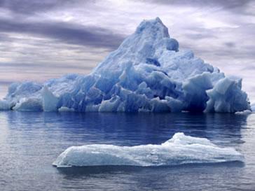 O degelo uma das consequências das modificações climáticas