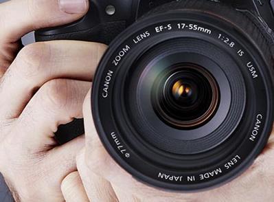 As lentes esféricas estão presentes nas máquinas fotográficas