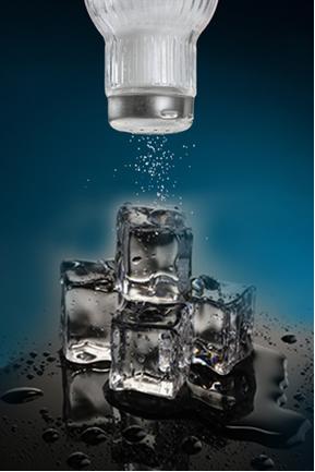 A crioscopia estuda a diminuição do ponto de congelamento quando se adiciona um soluto. Como acontece quando adicionamos sal no gelo e ele derrete