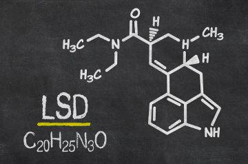 LSD é a sigla utilizada para dietilamida do ácido lisérgico