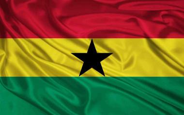 Imagem da bandeira de Gana