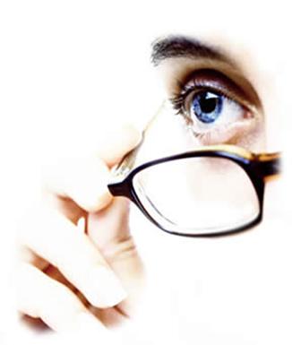 As lentes usadas nos óculos têm por finalidade corrigir problemas visuais