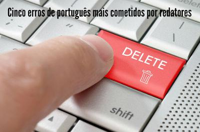 É errando que se aprende: Erros de português podem acontecer até mesmo com profissionais da escrita