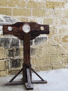 Os instrumentos de tortura foram utilizados pela Inquisição durante a Contrarreforma para combater as heresias