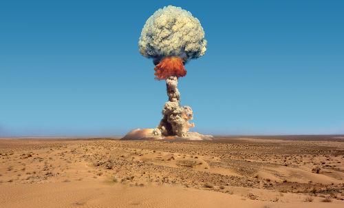 A construção de armas nucleares deu a tônica da Corrida Armamentista