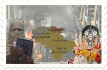 O fundamentalismo muçulmano e o fundamentalismo hindu movimentam os conflitos entre a Índia e o Paquistão pela incorporação da região da Caxemira