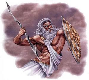 Zeus, principal deus grego