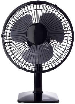 O ventilador é considerado um transformador de energia