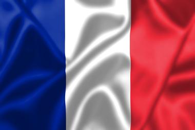 Imagem representando a bandeira da França