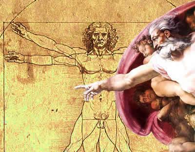 O lugar do homem e de Deus sob a ótica do movimento renascentista.