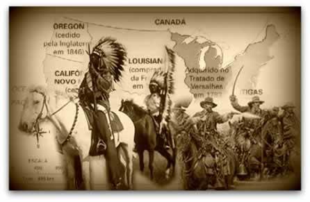 A Marcha para o Oeste, no século XIX, foi efetivada pelo governo norte-americano e pela crença da população no 'Destino Manifesto'