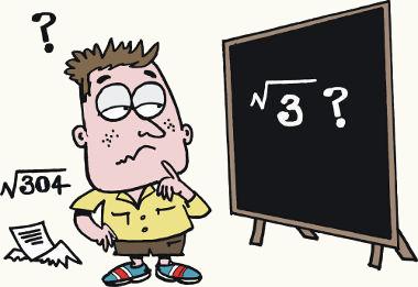 A raiz quadrada aproximada também é chamada de raiz quadrada não exata