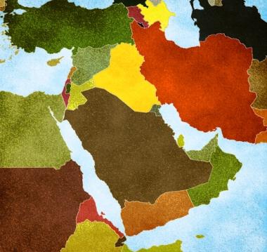 Espaço regional do Oriente Médio