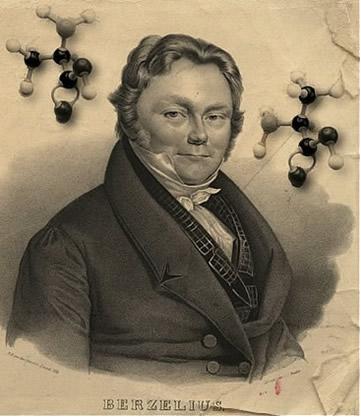 """Berzelius foi o criador do termo """"isomeria"""""""
