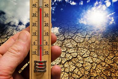 O aquecimento global resulta no aumento médio das temperaturas
