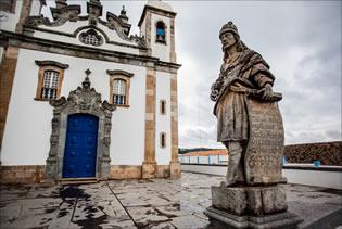 A arte barroca foi eternizada em Minas Gerais pelo mestre Aleijadinho