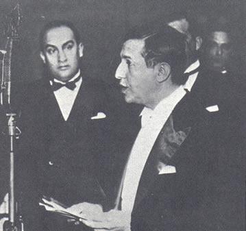 Foi na TV Tupi, de Assis Chateaubriand (na foto acima), que Juarez Távora pronunciou um discurso contra o presidente JK
