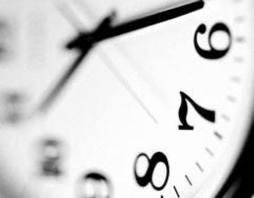 A abreviatura de horas constitui-se de traços predeterminados