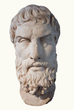 Algumas noções fundamentais para o filósofo Epicuro são a ataraxia, a aponia e o logismos