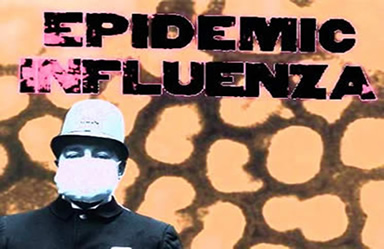 A gripe espanhola causou grandes perdas durante a Primeira Guerra Mundial.