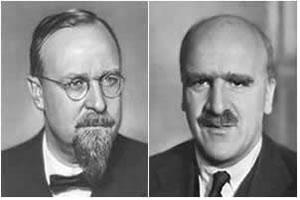 Oparin e Haldane, respectivamente.