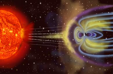 Graças ao campo magnético terrestre, diversas partículas emitidas pelo Sol não chegam até nós