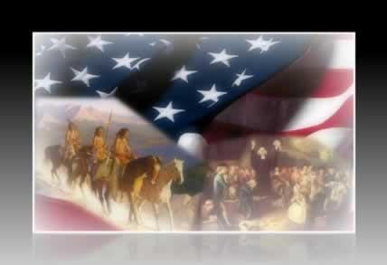"""O """"Destino Manifesto"""" legitimou a Marcha para o Oeste nos EUA, no século XIX"""