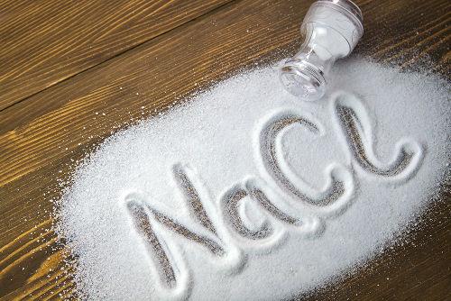 O cloreto de sódio (sal de cozinha) é um sal de caráter neutro
