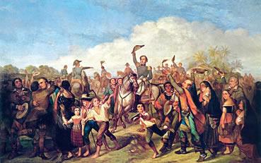 O processo de independência do Brasil não aconteceu a partir do ano de 1822