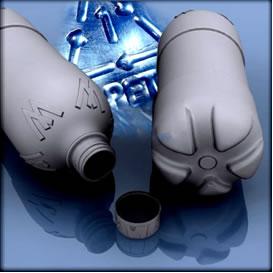 As garrafas PET são a aplicação mais conhecida do polímero polietilenotereflato.