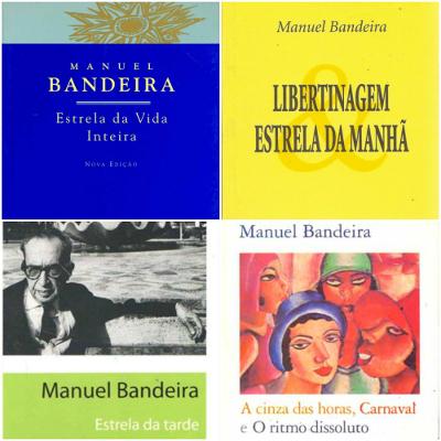Manuel Bandeira nasceu em Recife, no dia 19 de abril de 1886. Faleceu no Rio de Janeiro, no dia 13 de outubro de 1968 *