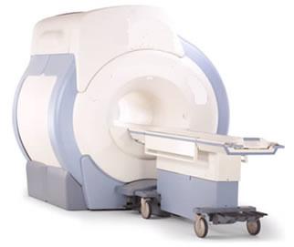 Aparelho utilizado para realizar exames de ressonância magnética.