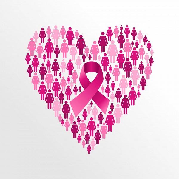 O laço rosa, utilizado pela primeira vez em 1990, é hoje um grande símbolo da luta contra o câncer