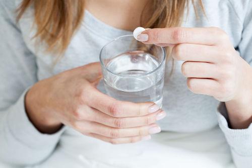 A aspirina é um medicamento utilizado como analgésico e antitérmico