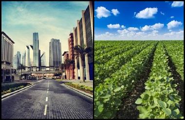 O espaço rural e o espaço urbano são interdependentes