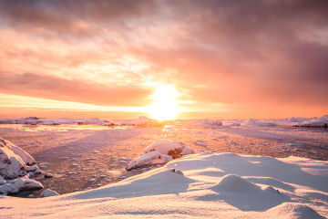 A Antártida foi o último continente a ser descoberto