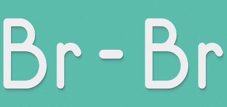 A substância bromo pode ser formada em reação de simples troca entre ametais