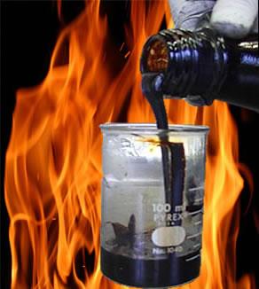 O bio-óleo, ou alcatrão pirolítico, é resultado de uma reação de decomposição por fogo, ou seja, por pirólise