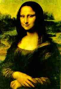 """Monalisa"" do renascentista Leonardo Da Vinci."