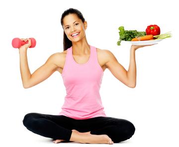 Alimentar-se bem e praticar exercícios ajudam a emagrecer