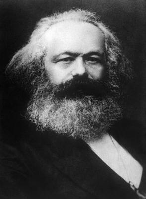 Karl Marx foi um dos integrantes da Associação Internacional dos Trabalhadores