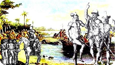 Os primeiros contatos entre indígenas e europeus no século XVI foi o início da submissão e extermínio da população indígena brasileira