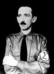 Plínio Salgado foi o líder dos integralistas, grupo que polarizou o cenário político com a ANL durante o Governo Constitucional de Vargas